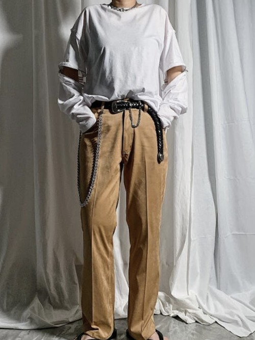 【PROVOKE】FAKE SUEDE PANTS