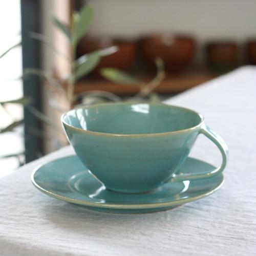 陶工房里一 ミントスープカップ