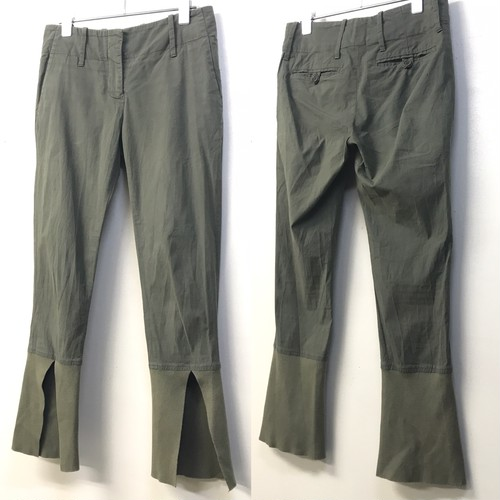 EARLY 2000s HELMUT LANG SLIT PANTS