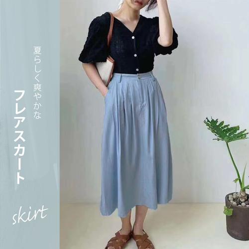 コットンフレアスカート /pants361