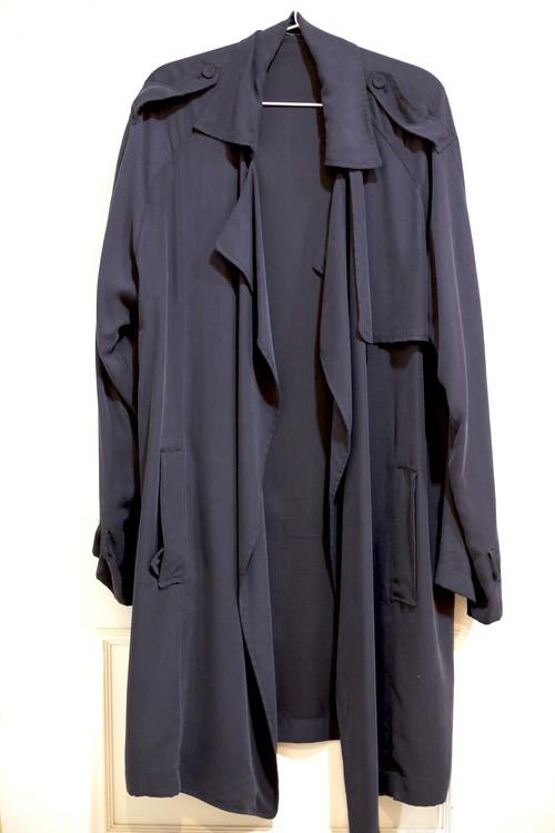 【UNISEX】Long Drape Coat