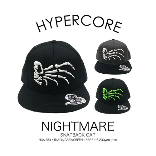 A-354 NIGHTMAREキャップ