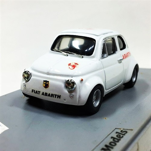 Fiat Abarth 595 1/43【Carrara Models】【1個のみ】【税込価格】