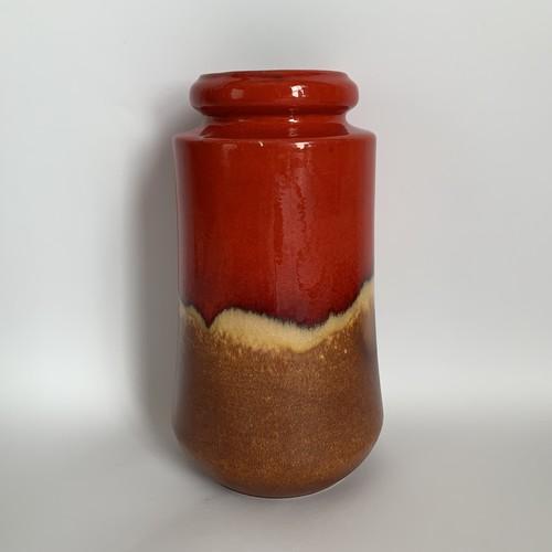 Scheurich / Vintage Fat Lava Vase _02(ヴィンテージ フラワーベース)