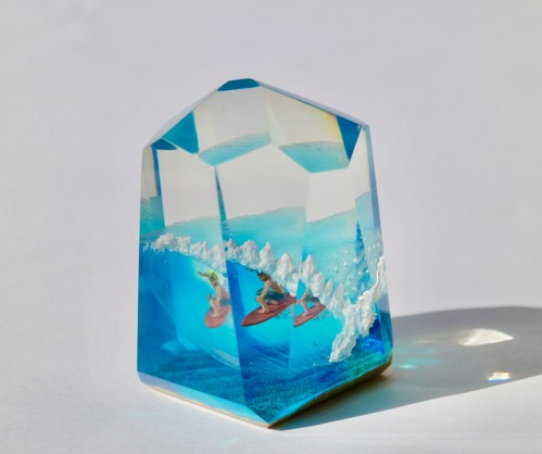 CRYSTAL CUBE L size Tube Rider