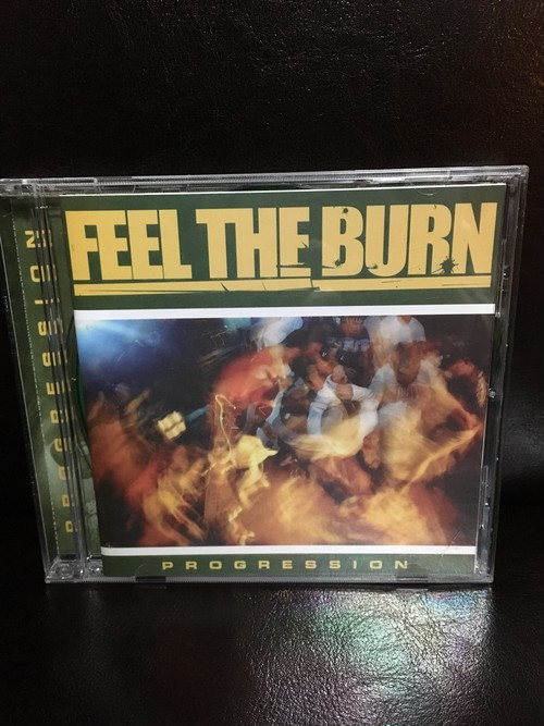 【SALE 20%OFF】Feel The Burn /Progression cd