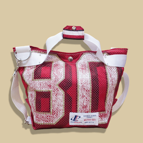 "WCH Remake NFL Game shirts Tote Bag (S) -""80""/ Red"