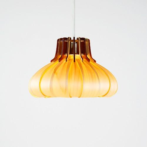 「オニオン」木製ペンダントライト