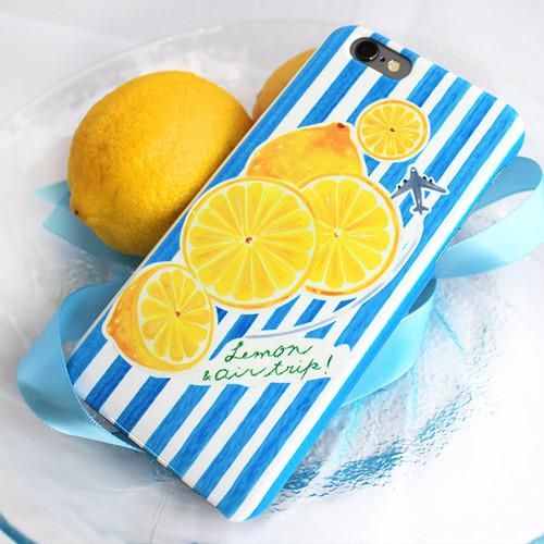 【送料無料/スマホケース】Lemon,Trip!