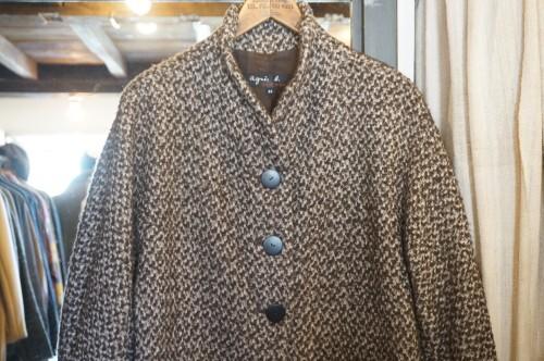 90-00's agnès b. wool cocoon Coat