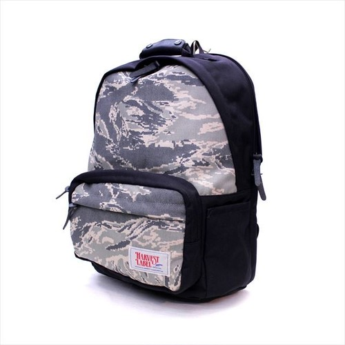 HARVEST LABEL 「California Camo」 BACK PACK <GRAY>