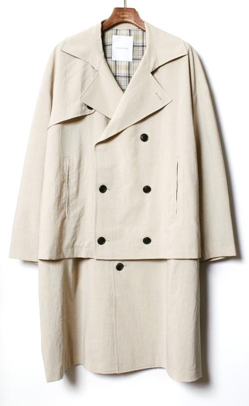 Layered Over Coat  -beige  <LSD-BA1C1>