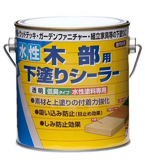 水性木部用下塗りシーラー 0.7L 透明