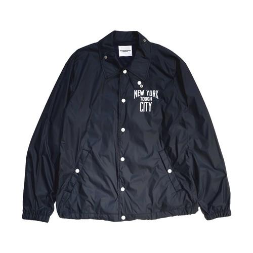 sj.0100 coach jacket. (NEW YORK TOUGH CITY.)