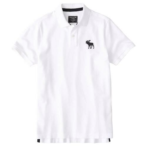 Abercrombie&Fitch Exploded Icon Stretch Polo