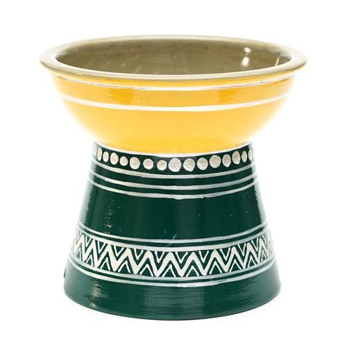 nocoto×hug2フードボウル(foodbowl2-yellow green)