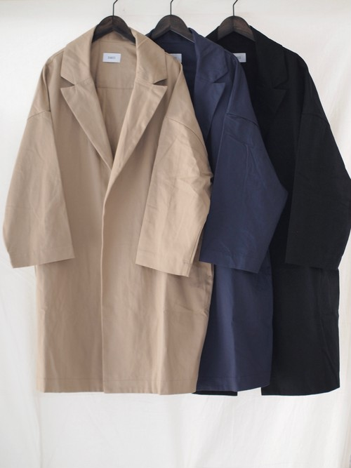 【DIARIES】CONPACT CHINO OPEN COAT