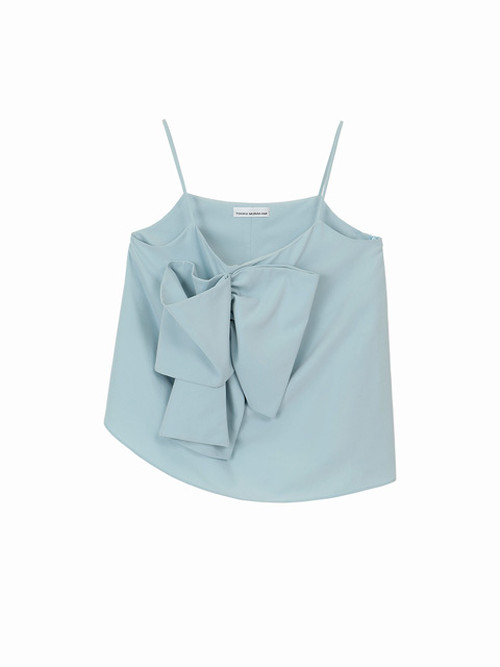 Ribbon camisole  / Light blue / W15TP05