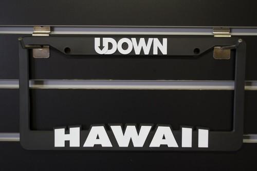 UDOWN Licence plate frames