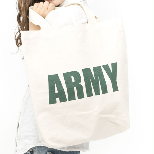 [ the HAMP works ] TOTE_BAG B-6 :  ARMY