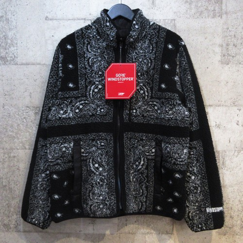 SUPREME 19AW Reversible Bandana Fleece Jacket