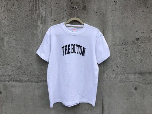 """【受注生産】CollegeロゴTシャツ """"THE BUTON""""【座布団】"""