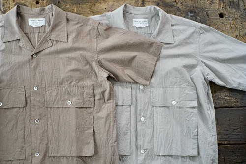 ENDS and MEANS / CORFU SHIRTS S/S
