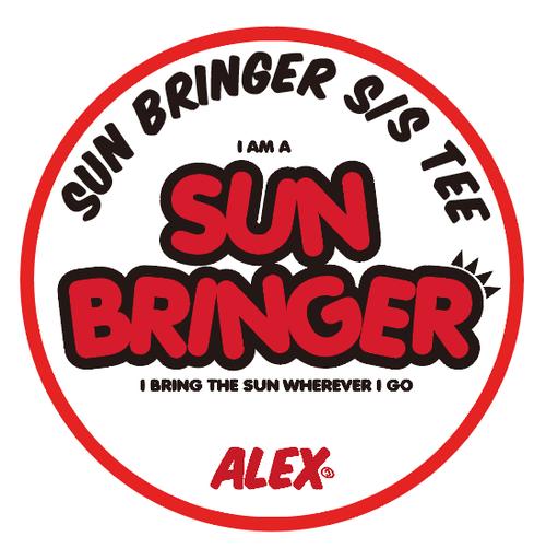 """ SUN BRINGER(晴れ女/晴れ男) "" S/S TEE"