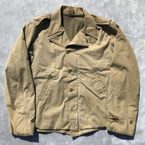40's U.S. M-41 フィールドジャケット  コットンポプリン カーキ WW II 大戦 米軍 ミリタリー CONMER コの字 38位 希少 ヴィンテージ