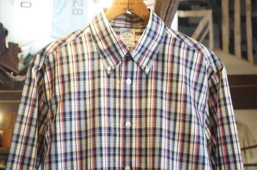 Brooks Brothers tartan supima-cotton Shirt