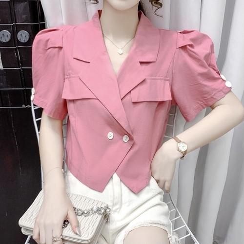 2色/ボリューム袖ジャケット ・18166