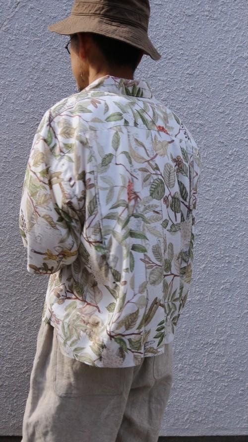 ASEEDONCLOUD/アシードンクラウド Naughty work shirts/ノーティーワークシャツ oykotoen print
