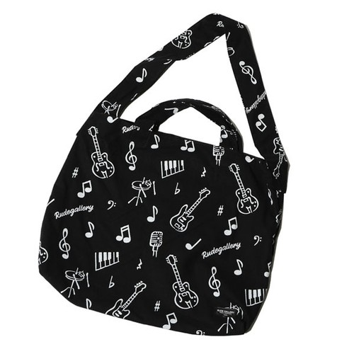 ONPU SHOULDER BAG (BLACK) / RUDE GALLERY