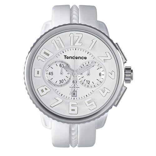 【Tendenceテンデンス】ガリバー TG036013/ホワイト スイスメイド腕時計