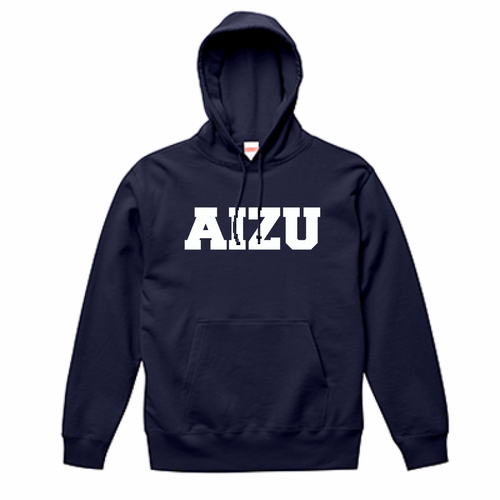 AIZU-スウェットプルオーバー パーカ BASIC/ネイビー