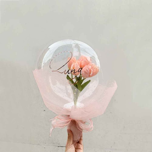 BALLOON FLOWER BOUQUET - el angels -