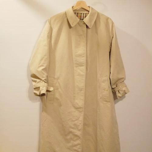"Vintage Burberrys Balmacaan Coat Size14 LONG ""Made in England,1 Panel Sleeve"""