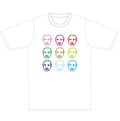"""Asikusas 酸chez × PEGA-PEGA """"ありがとな""""T-shirts  white"""