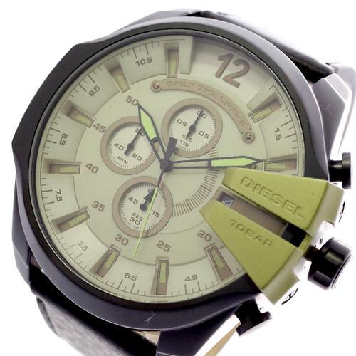 ディーゼル DIESEL 腕時計 メンズ DZ4495 クォーツ グリーン ブラック グリーン
