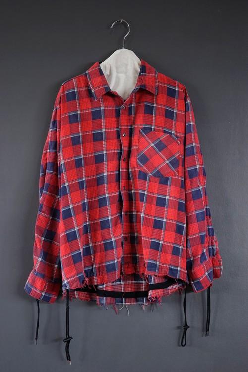 old park - shirring shirt