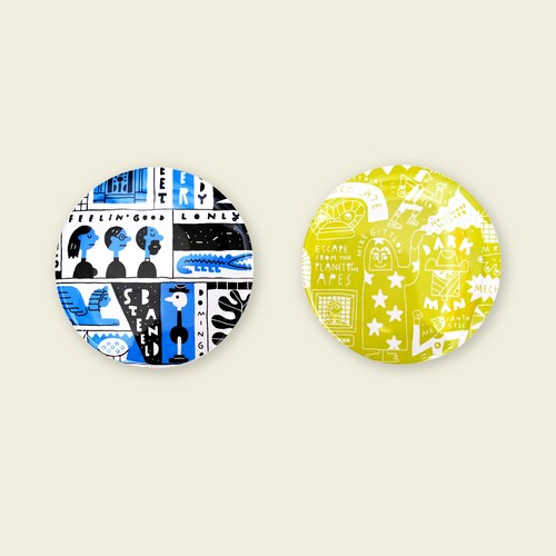 Tact Sato/Badges