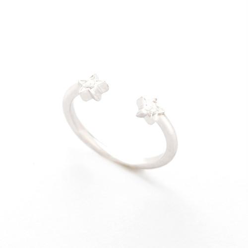 Twinstar ring(Silver)