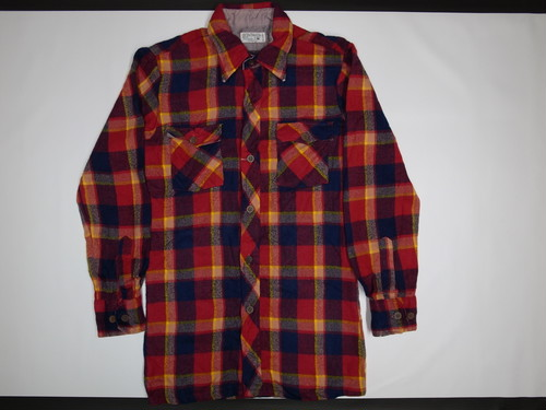 70's JC Penney Flannel BOX Shirts