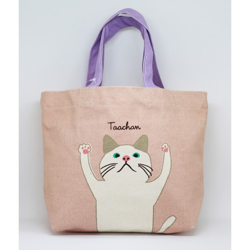 猫ミニトートバッグ(ターチャン)