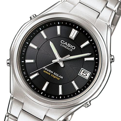 カシオ リニエージ 電波 ソーラー 腕時計 LIW-120DEJ-1AJF ブラック 国内正規 ブラック