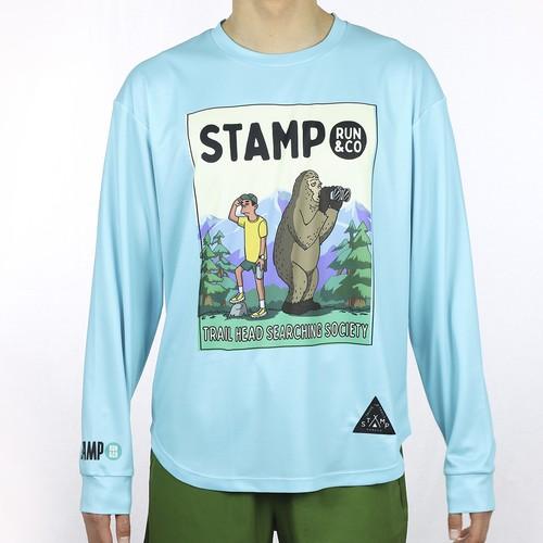 STAMP LONG SLEEVE TEE (TRAILHEAD)