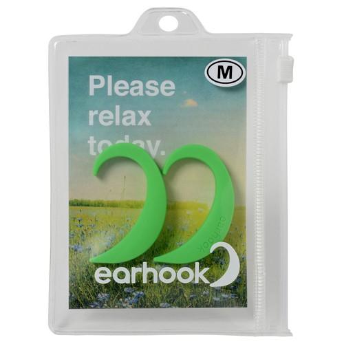 EARHOOK GREEN(緑)Mサイズ【商品コード:E8GM】