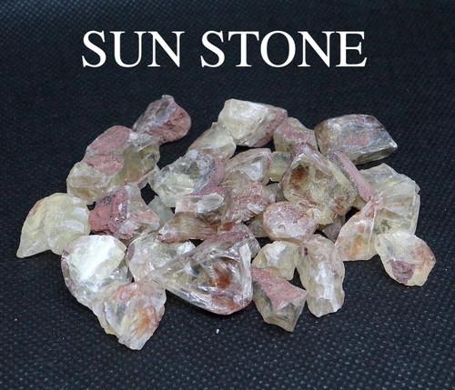超お買い得!サンストーン オレゴン州産 合計約81g SUN055 原石 宝石 天然石 鉱物セット