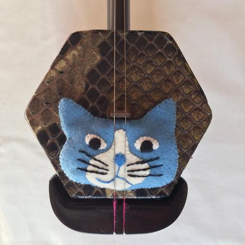 コントロールマスコット(ハチ割れブチ猫ブルー)