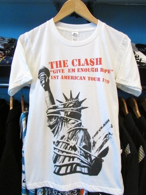 S/STシャツ THE CLASH GIVE'EM ENOUGH ROPE
